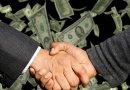 dollar handshake