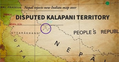 Nepal rejects new Indian map over Kalapani territory. Credit: Great Game India