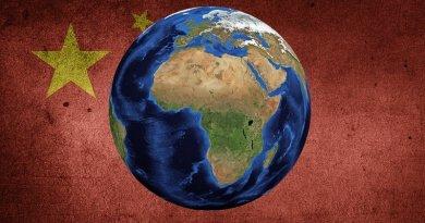 china africa globe