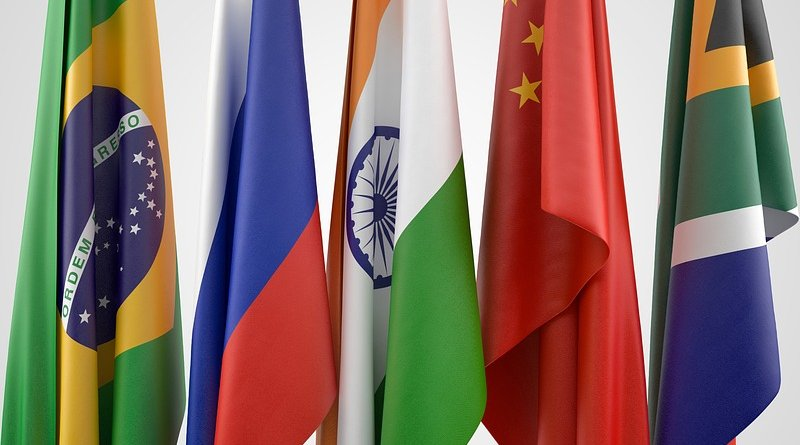 brics flags brazil russia india china south africa