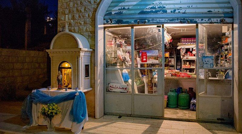 lebanon christian quarter shop virgin mary