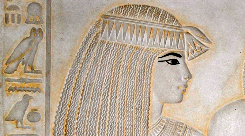 Details of Ancient Egyptian known as Merit Ptah. Photo Credit: Stzeman, Wikimedia Commons