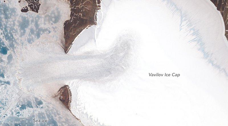 Vavilov ice cap. Photo Credit: NASA