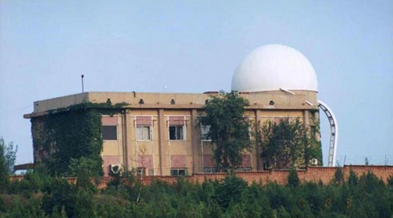 Beijing Fangshan Satellite Laser Observatory. CREDIT Beijing Fangshan Satellite Laser Observatory