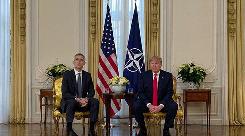 NATO Secretary General Jens Stoltenberg and US President Donald Trump. Photo Credit: NATO