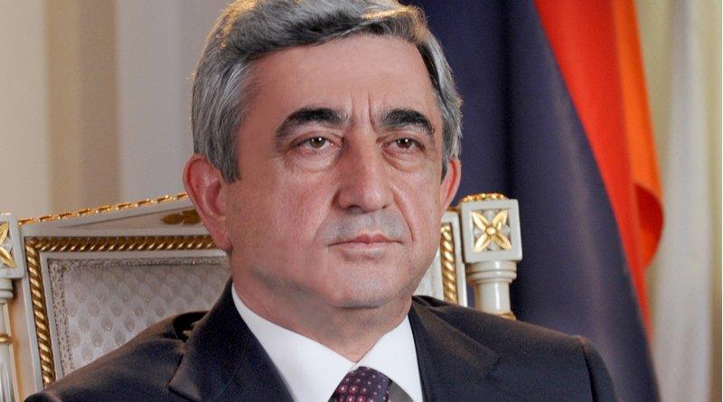 Armenia's Serzh Sarkisian. Photo Credit: Hrantos, Wikimedia Commons
