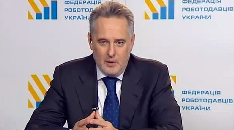 Dmytro Firtash. Credit: Youtube CC-BY, Wikipedia Commons