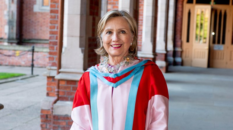 Secretary Hillary Rodham Clinton appointed Chancellor of Queen's University Belfast. Photo Credit: Queen's University