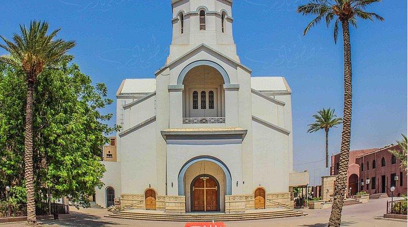 The Armenian Church of Baghdad, Iraq. Photo Credit: Mondalawy, Wikipedia Commons
