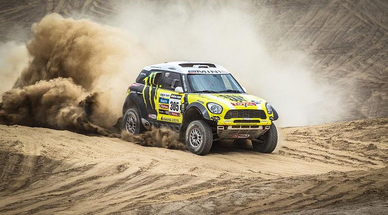 A contestant in the 2013 Dakar Rally Credit: Wikipedia Commons