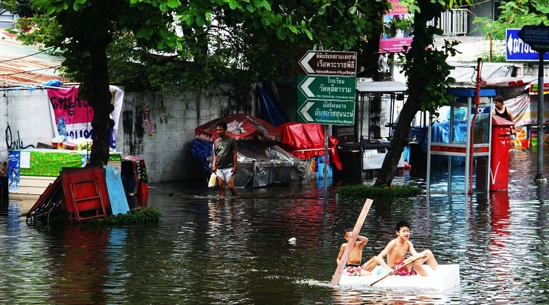 flood water asia climate change