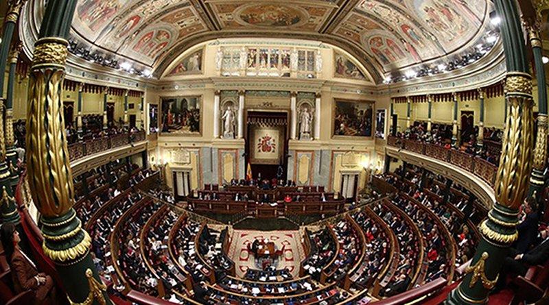 First day of the investiture session (XIV Legislature) at the Spanish Parliament (Congreso de los Diputados) (4/1/2020). Photo: La Moncloa - Gobierno de España (CC BY-NC-ND 2.0)