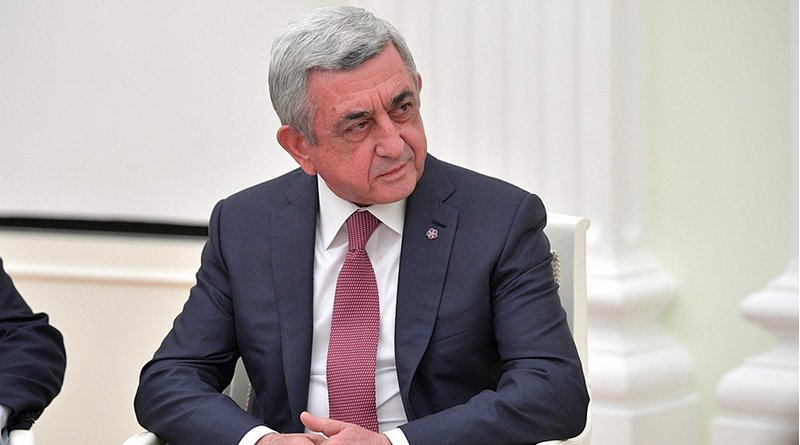 Armenia's Serzh Sargsyan. Photo Credit: Kremlin.ru