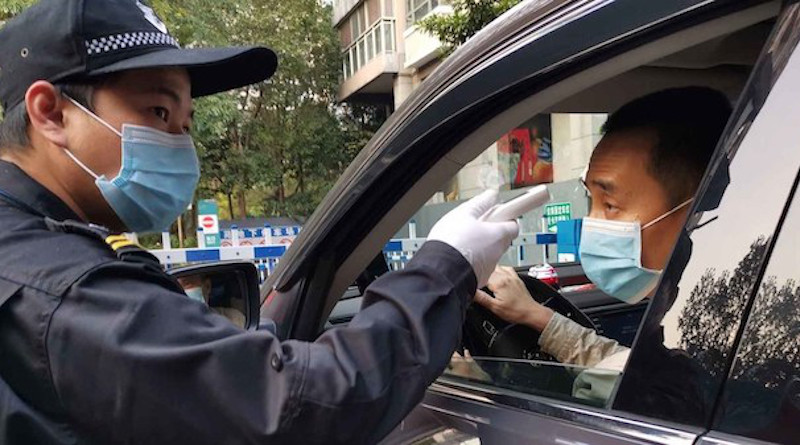 The movement of people in Shenzhen in China, is being strictly controlled during the coronavirus outbreak. Credit: Man Yi