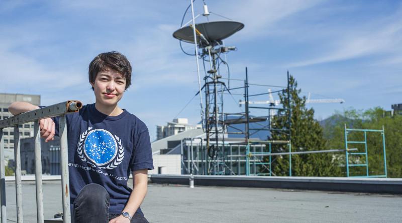 UBC astronomy student Michelle Kunimoto CREDIT UBC