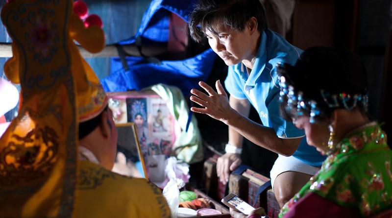 Chinese Opera Penang Malaysia Backstage Story