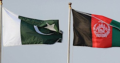 flags of pakistan and afghanstan