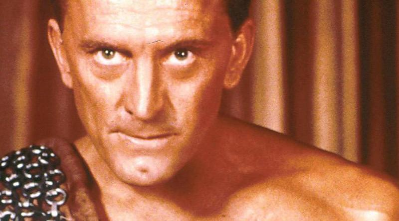 Kirk Douglas as Spartacus. Source: Screenshot from film