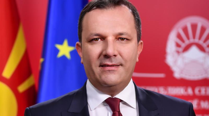 North Macedonia's Prime Minister Oliver Spasovski. Photo Credit: Office of North Macedonia's Prime Minister
