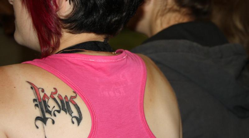 Tattoo Skin Jesus Girl Faith Christian