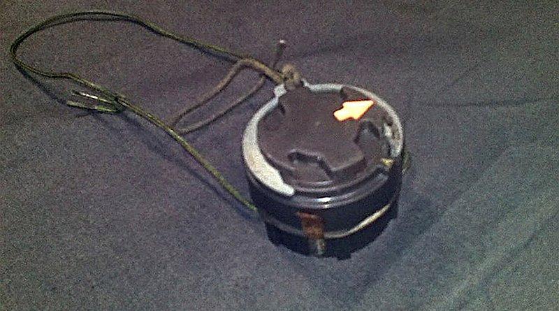 Blast mine - American M14, Source: Wikimedia Commons.