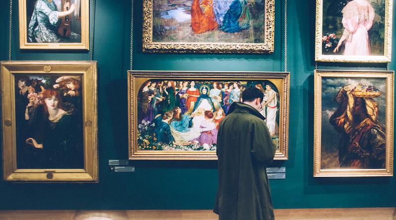 People Man Artist Painting Paint Museum Art