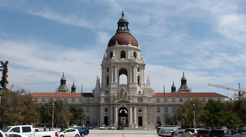 Pasadena California City Hall Historical Building