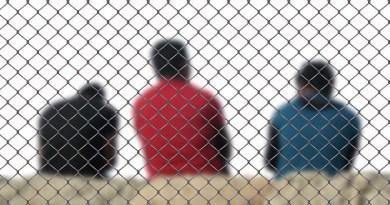 Fence Men Refugee Integration Deportation Stay