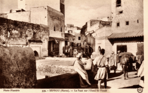 Entrance of the Mellah in 1930