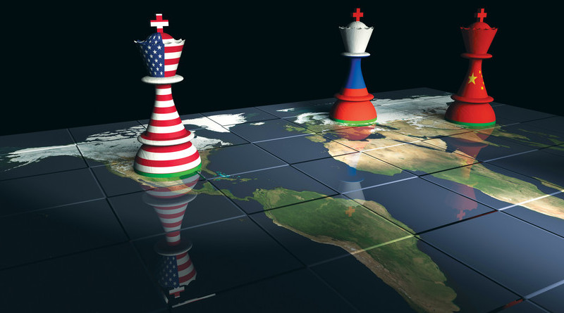 The National Security and National Defense Strategies of the United States are built upon a re-emphasis on great power competition. Photo Credit: PRISM, NDU