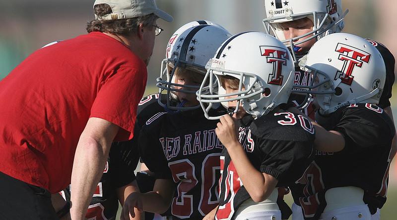 Football Coach Coaching American Youth League Boys