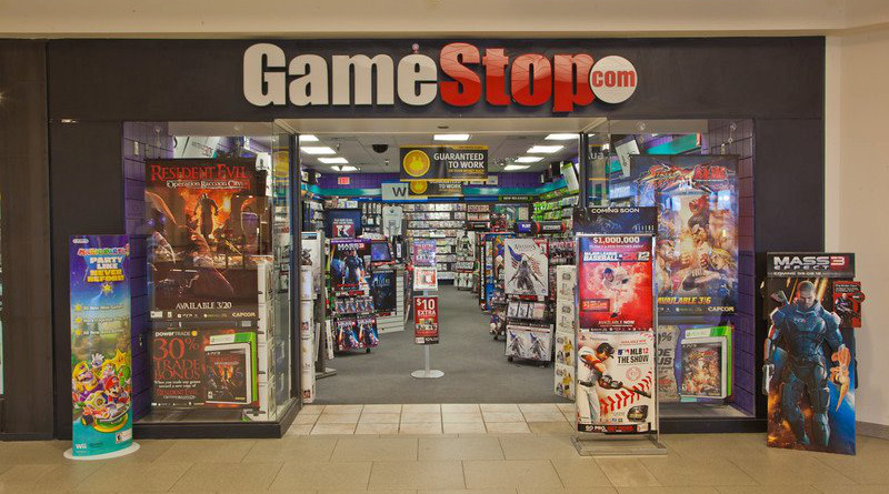 GameStop shopfront. Photo Credit: BentleyMall, Wikipedia Commons