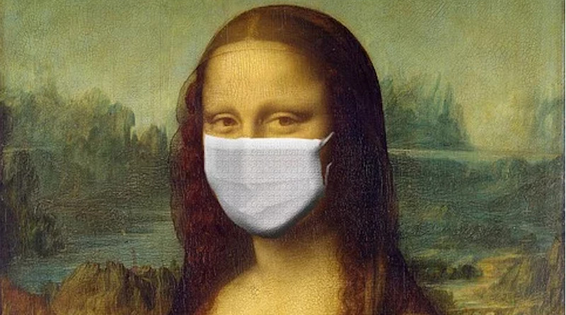 Monalisa Mona Lisa Corona Virus Coronavirus COVID-19