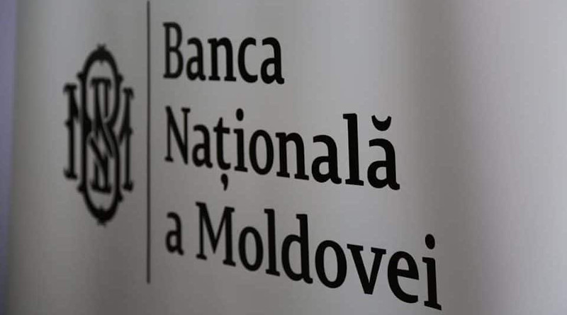 The logo of the National Bank of Moldova. Photo: BNM Facebook Page