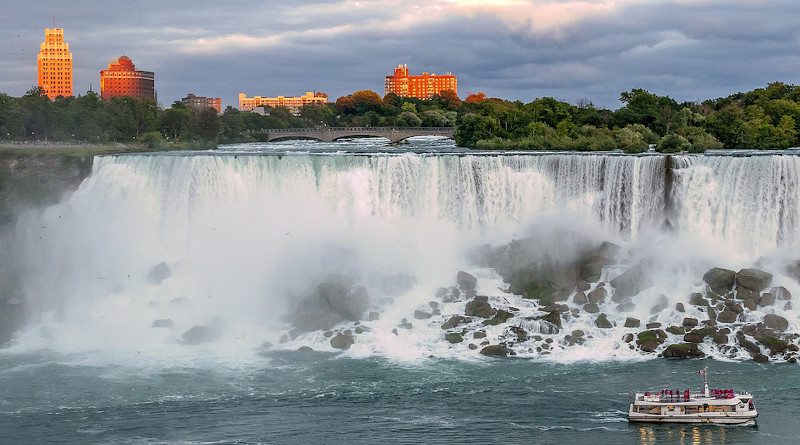 Waterfalls Niagara Falls American Landscape River