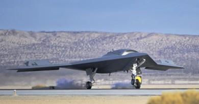 "Northrop Grumman X-47B ""UCAS"" (Unmanned Combat Air System - drone). Photo: Flickr Creative Commons"
