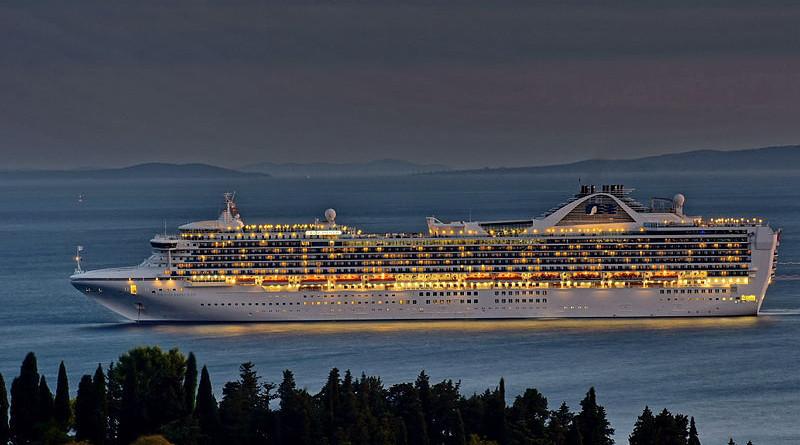 File photo of Grand Princess cruise ship. Photo Credit: Ivan T., Wikipedia Commons