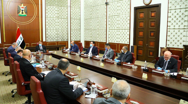 Iraq's Prime Minister Adil Abd Al-Mahdi chairs the first meeting of the Higher Committee for Health and National Safety. Photo Credit: Iraq Government