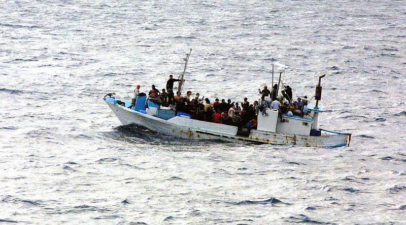 Mediterranean Boat Water Refugee Escape Asylum Politically Africa