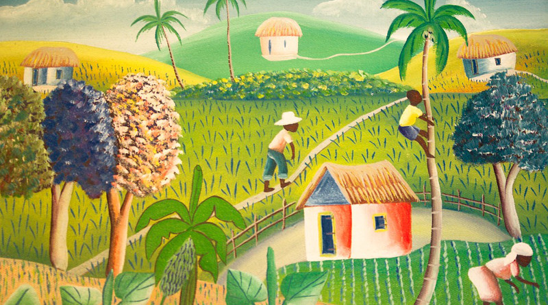 Haiti Painting Agriculture Fields