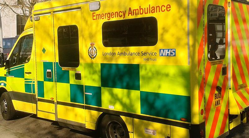 NHS National Health Ambulance London Vehicle Emergency Medical