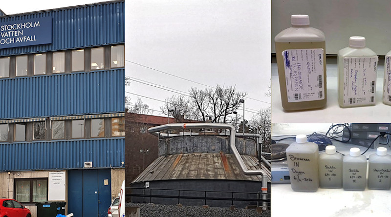At two Stockholm water treatment plants, samples of sewage are collected at KTH Royal Institute of Technology for tracking the coronavirus and measuring the spread of COVID-19 in communities. KTH is also collecting samples in Italy, Spain, India, Netherlands and Turkey.