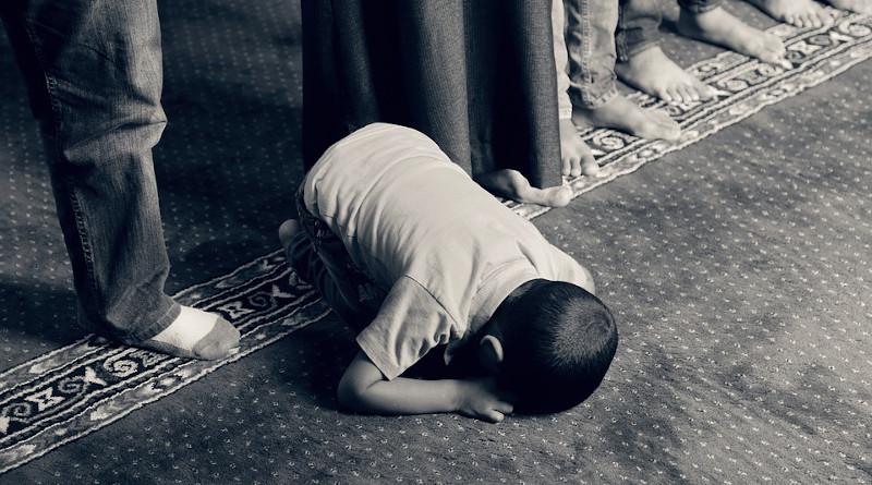Child Kid Praying Muslim Islam Faith Religious Prayer