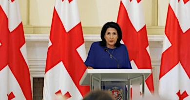 Georgia's President Salome Zurabishvili. Photo: president.gov.ge
