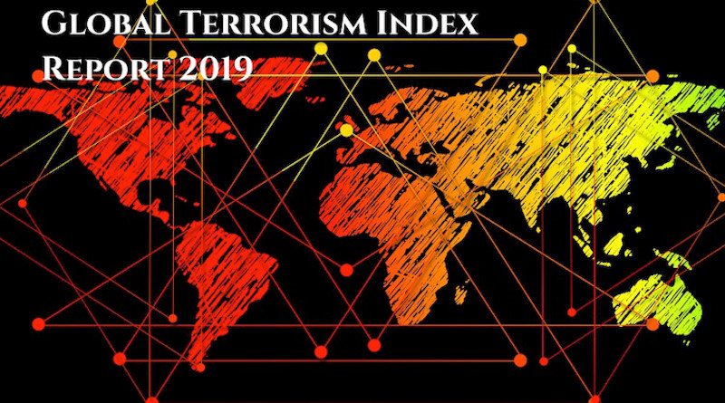 Numbers of deaths have halved in the last four years, according to the respected Global Terrorism Index. published by the Institute for Economics and Peace. The numbers killed were 33,555 in 2014 but in 2018 were 15,952. Credit: Global Terrorism Index 2019.