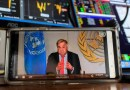 UN Secretary-General António Guterres briefs the media on the socio-economic impacts of the COVID-19 pandemic. UN Photo/Mark Garten