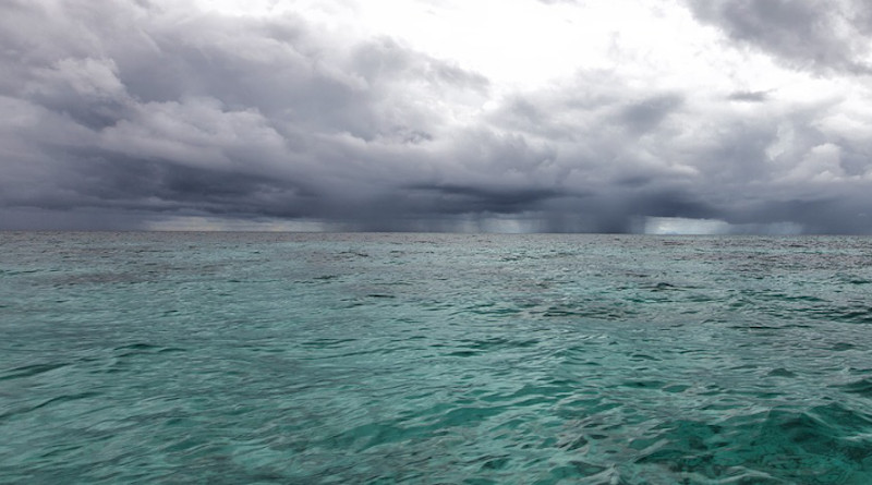 Cloudy Landscape Sea Southern Countries