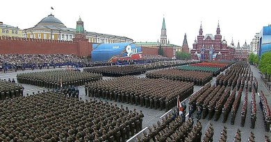 Military parade in Red Square in Moscow, Russia. Photo Credit: Kremlin.ru