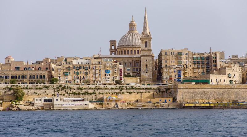 Basilica Of Our Lady Of Mt Carmel church in Malta