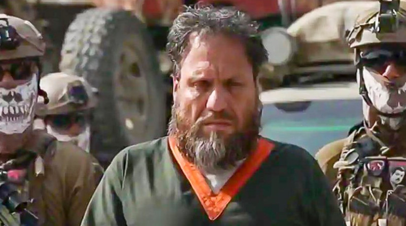 Islamic State Khorasan (IS-K) chief Abdullah Orakzai alias Aslam Farooqi under arrest. Photo Credit: AFGHANISTAN'S NATIONAL DIRECTORATE OF SECURITY